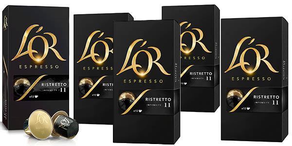 Pack 5 cajas L'Or Café Espresso Ristretto barato