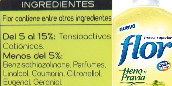 Pack de 5 botellas de Suavizante concentrado Flor fragancia Heno de Pravia para 225 lavados chollazo en Amazon