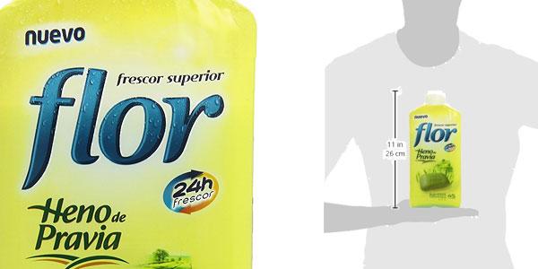 Pack de 5 botellas de Suavizante concentrado Flor fragancia Heno de Pravia para 225 lavados chollo en Amazon