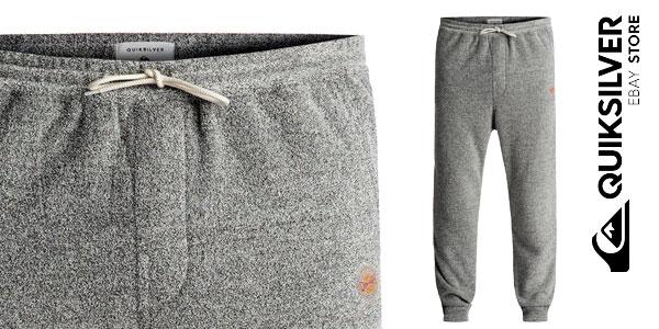 Pantalones de chándal Quiksilver After Surf Super-Soft Joggers para hombre chollo en eBay