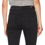 Pantalones vaqueros Pepe Jeans London Regent en color negro para mujer chollo en Amazon