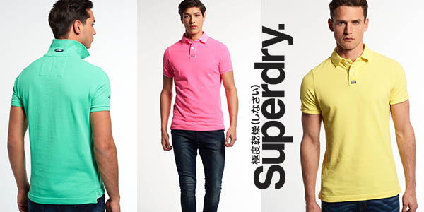 polo Superdry New Vintage Destroyed para hombre barato