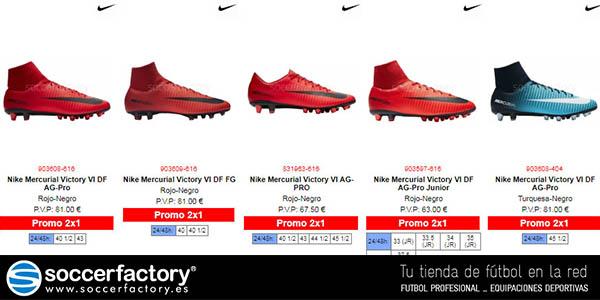 59e1e4faeaf02 2x1 en Soccerfactory con una gran selección de productos de fútbol ...