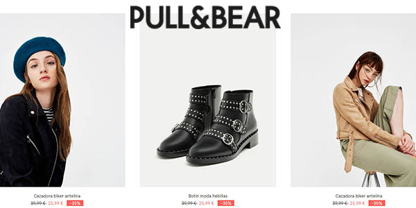 Pull & Bear Mid Season Sale abril 2018