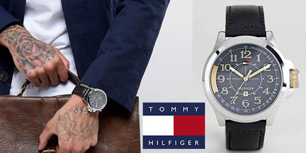 b1f428d0c795 Chollazo Reloj Tommy Hilfiger con correa de cuero para hombre por ...