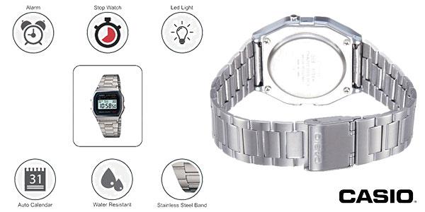 Reloj digital Casio A158WEA-1EF para hombre chollo en Amazon