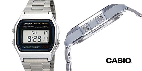 Reloj digital Casio A158WEA-1EF para hombre barato en Amazon