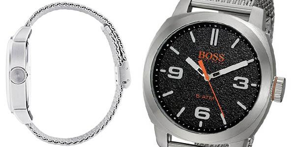 reloj Hugo Boss plateado con genial relación calidad-precio