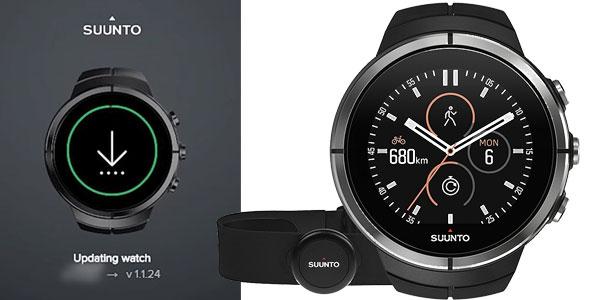 Reloj multideporte Suunto Spartan Ultra Black HR chollo en Amazon
