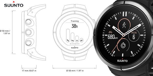 Reloj multideporte Suunto Spartan Ultra Black HR chollazo en Amazon