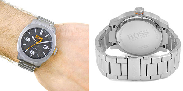 reloj de pulsera Hugo Boss Cape Town de diseño elegante a precio de chollo