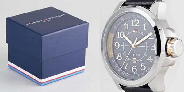 reloj de pulsera Tommy Hilfiger en cuero y cuarzo para hombre oferta
