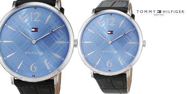 4ee0b5e6823b Reloj analógico Tommy Hilfiger 1781840 Pippa con correa de cuero para mujer  barato en Amazon