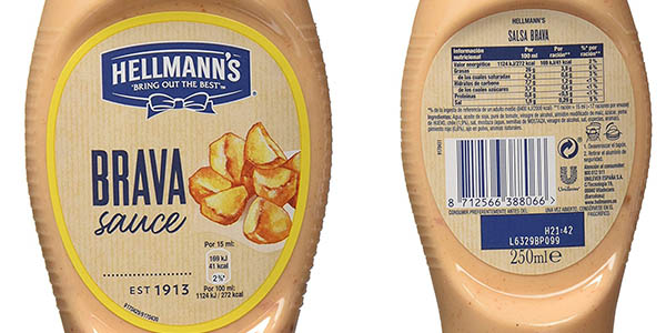salsa brava Hellmann's en formato ahorro