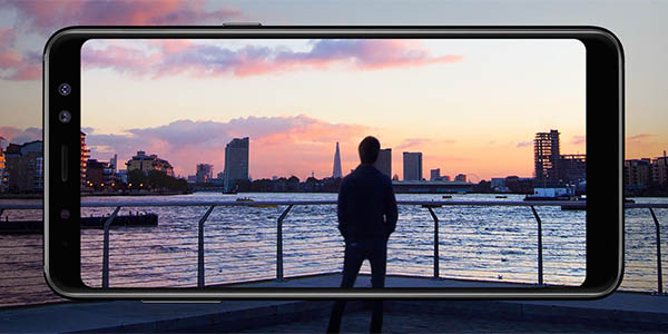 Samsung Galaxy A8 2018 en eBay