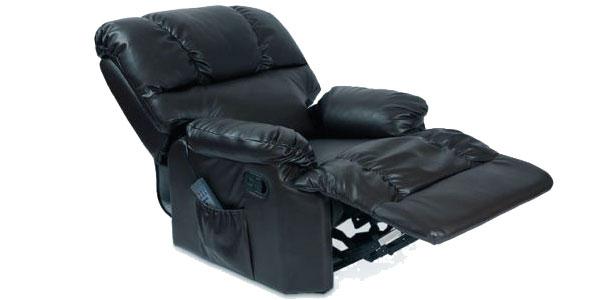 Sillón de masaje con función calor lumbar y mando a distancia en 3 colores chollo en eBay