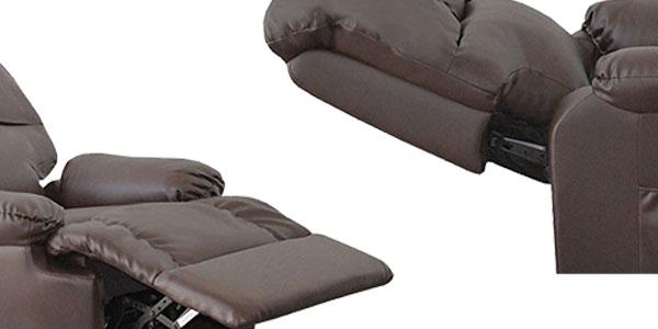 Sillón de masaje con función calor lumbar y mando a distancia en 3 colores chollazo en eBay