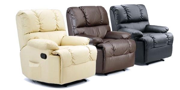 Sillón de masaje con función calor lumbar y mando a distancia en 3 colores barato en eBay