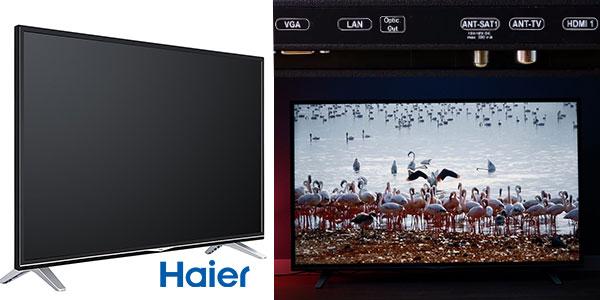 Smart TV Haier U55H7000 de 55 pulgadas UHD 4K con Netflix rebajada