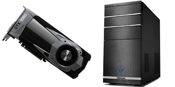 Medion AKOYA P4372 D con Nvidia GTX 1060