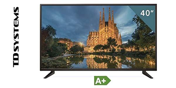 """TV TD Systems K40DLM7F de 40"""" Reacondicionado certificado barato en Amazon"""