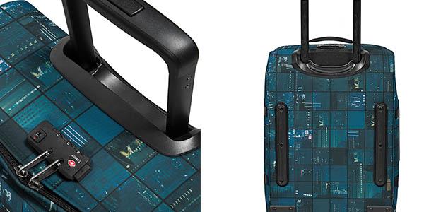 trolley de ruedas de tela blanda Eastpak Tranverz S con las medidas permitidas para equipaje de cabina avión barata