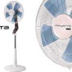 Ventilador de pie silencioso Rowenta Turbo Silence VU5640 en color blanco barato en Amazon
