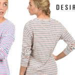 Vestidos camiseta de rayas Desires Helena barato en Amazon