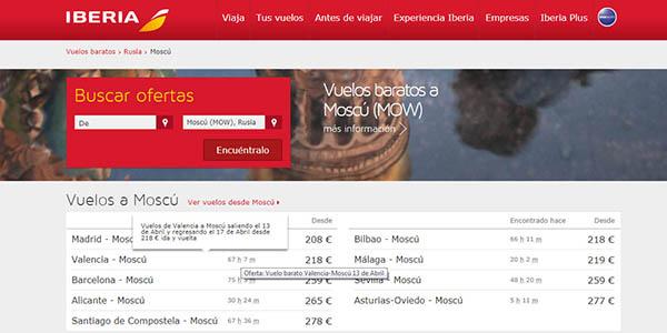 vuelos baratos para volar por España, Asia y América a precios de chollo en la promoción pre-verano de Iberia