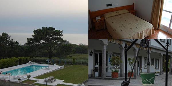 alojamiento con desayunos en San Vicente del Mar Rías Baixas oferta