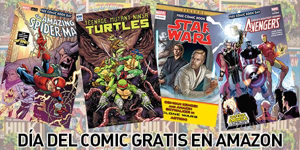 Día del comic gratis en Amazon