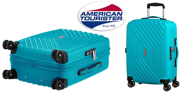 American Tourister Air Force 1 Spinner 55/20 Serrure TSA maleta de mano barata
