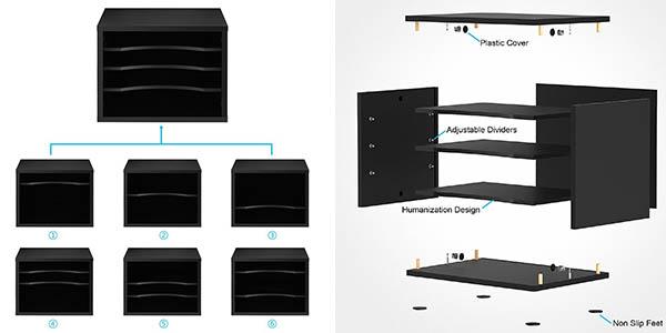 archivador con estantes para folios de diseño compacto en oferta
