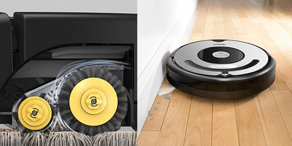 aspirador inteligente iRobot Roomba 616 en oferta
