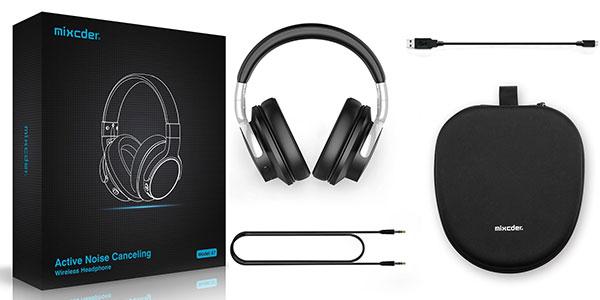 Auriculares inalámbricos Mixcder E7 Active con bluetooth y cancelación de ruido baratos