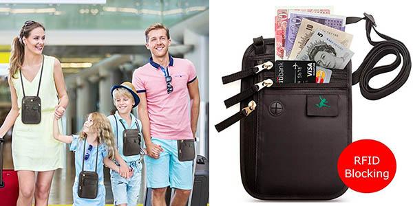 balndolera portadocumentos de viaje con protección RFID barata