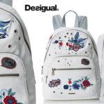 Bolso mochila Desigual Flowers Lima Rotterdam barato en Amazon