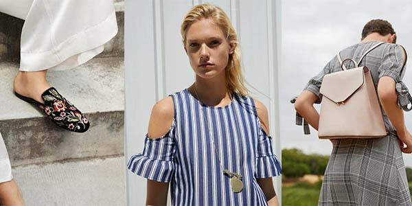 bolsos, calzado y complementos para mujer con grandes descuentos en Mango Outlet junio 2018