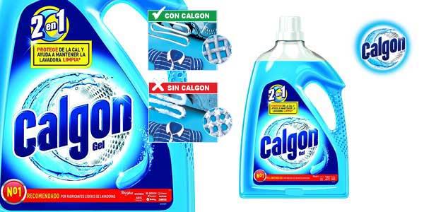 Botella gel 2 en 1 Calgon Antical Gel 2,25L barata en Amazon
