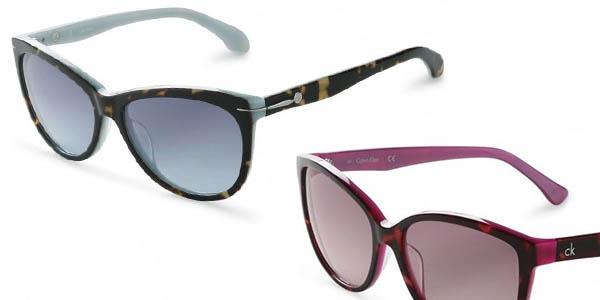 Calvin Klein gafas de sol de diseño moderno chollo