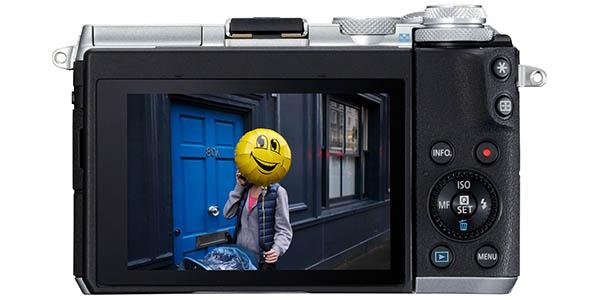 Canon EOS M6 de 24.2 MP con pantalla táctil