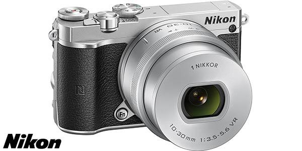 Cámara EVIL NIKON 1 J5 de 20 MP con objetivo 10-30mm