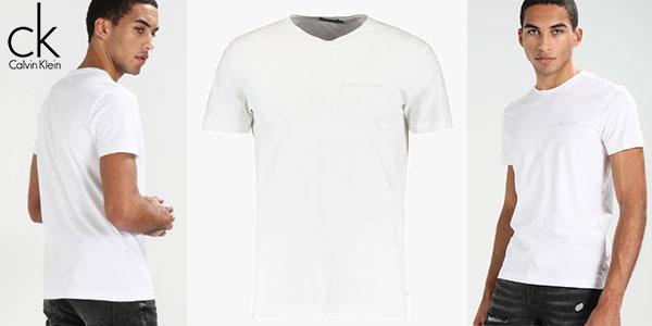Calvin Por Sólo Para 21 Slim 95 Klein Typoko Chollo Camiseta Hombre jSzUpLqMVG