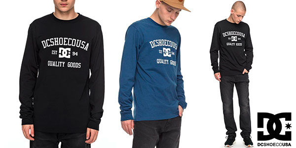 Camiseta de algodón DC Shoes Headphase para hombre barata