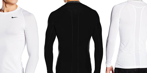 camiseta de entrenamiento transpirable Nike Pro oferta