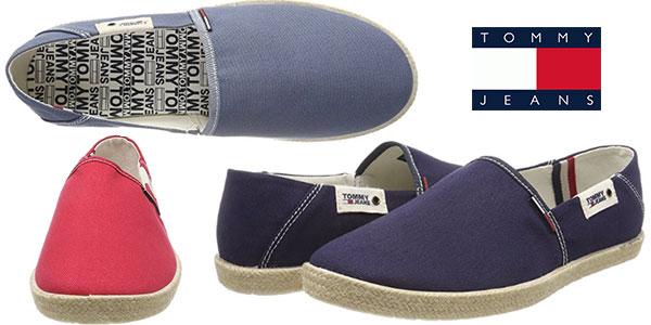Chollo Alpargatas Tommy Jeans Summer Slip On en varios colores para hombre