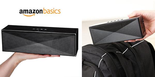 Chollo Altavoz portátil AmazonBasics (grande) de 5W con Bluetooth