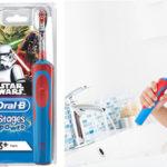 Cepillo de dientes eléctrico Oral-B Stages Power Kids de Star Wars barato