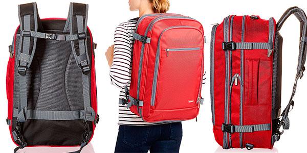 Chollo Mochila AmazonBasics para equipaje de mano de 50 litros
