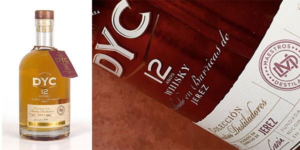 Chollo Whisky DYC de 12 años Colección Maestros Destiladores (700 ml)